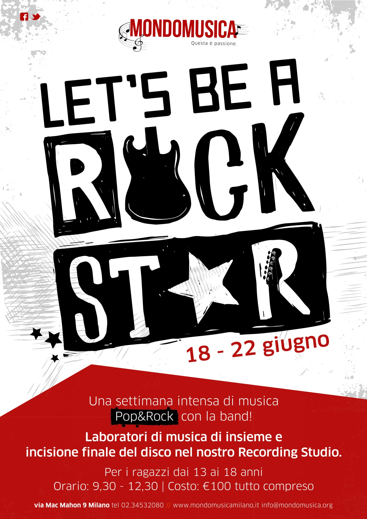 Let's be a rock star